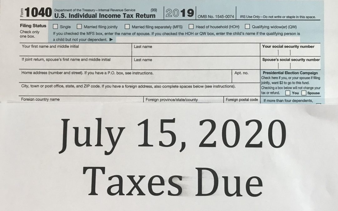 Remember-Federal Income Taxes Are Due in One Week!